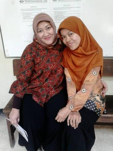 Ibu Aryati and Me