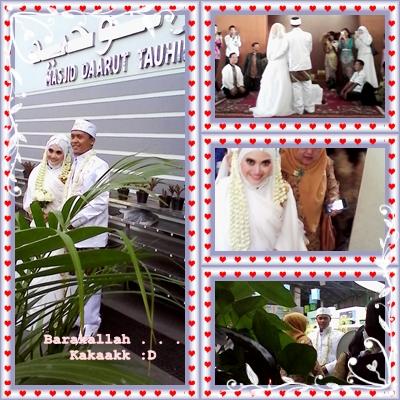Sakinah, mawaddah wa rahmah, aamiin ya Allah