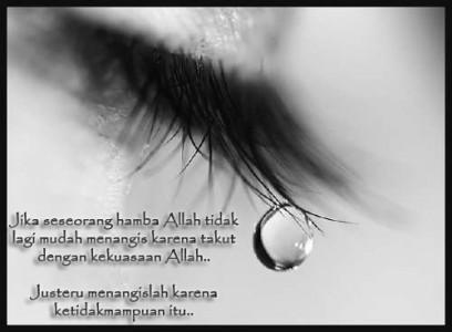 Image result for mengapa engkau menangis?