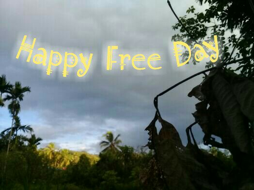 Ketika jarak tak lagi berarti, maka kebebasan adalah kenikmatan alami